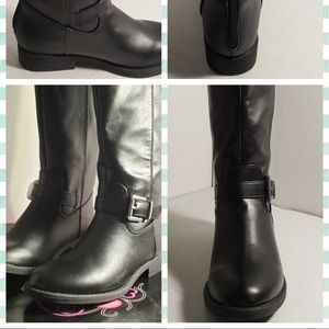 143 Girl Emalie Over-the-Knee Boots Girls SZ 1&3